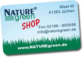 NATUREgreen Kundenkarte